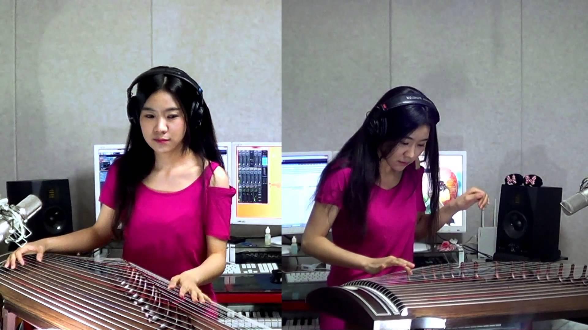 Девушка исполняет рок-хиты на инструменте, о котором вы вряд ли когда-либо слышали