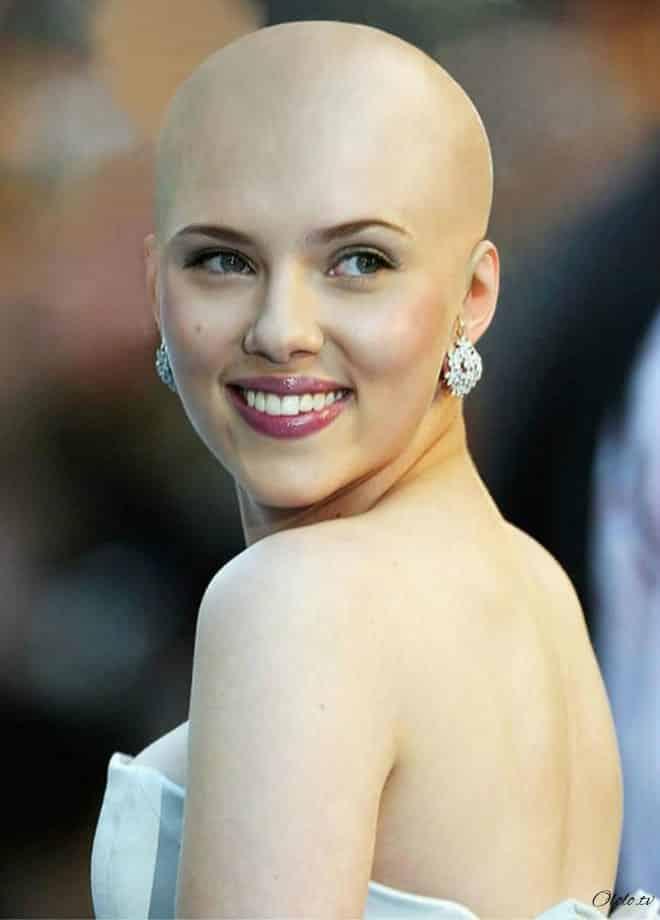 Как выглядели бы знаменитые женщины, будь они лысыми