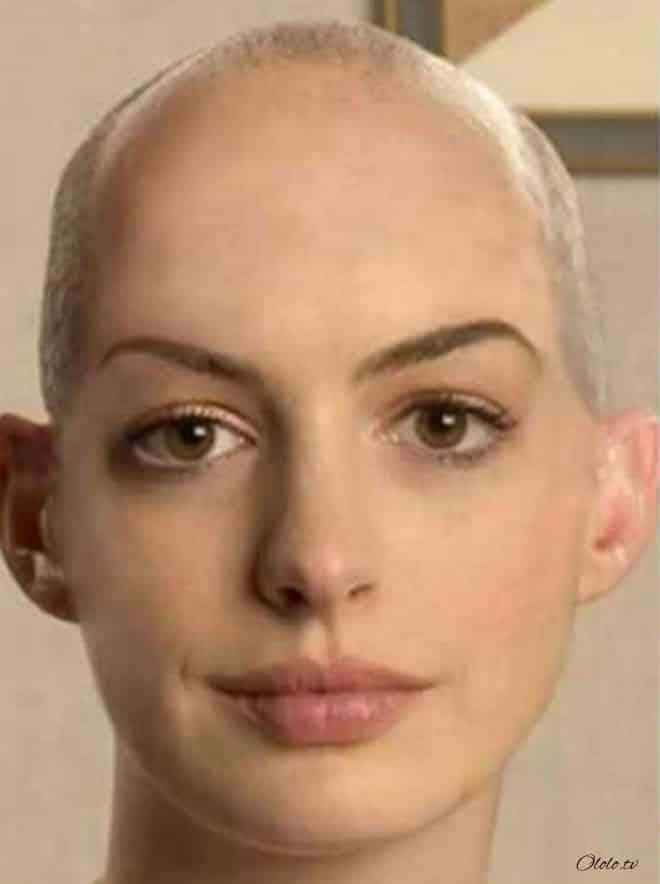 Как выглядели бы знаменитые женщины, будь они лысыми рис 2