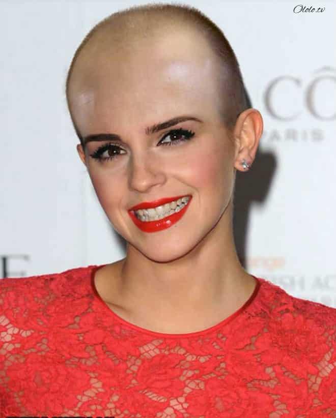 Как выглядели бы знаменитые женщины, будь они лысымиКак выглядели бы знаменитые женщины, будь они лысыми