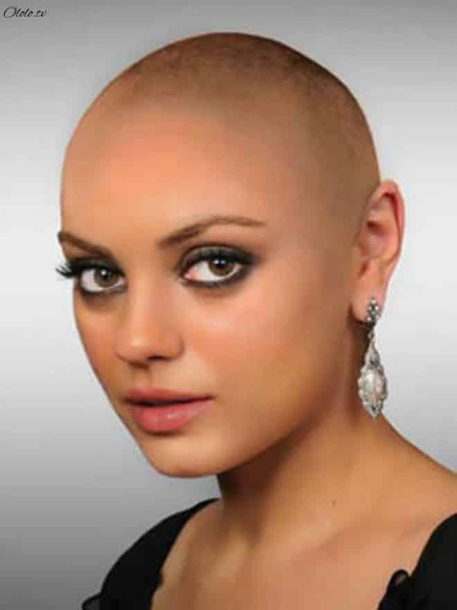 Как выглядели бы знаменитые женщины, будь они лысыми рис 5