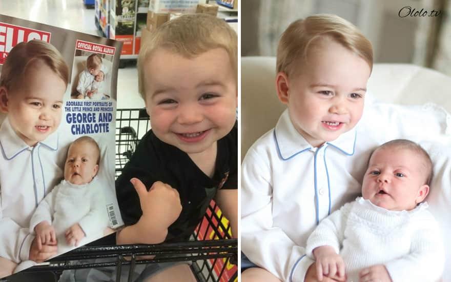 Малыши, неожиданно похожие на известных людей