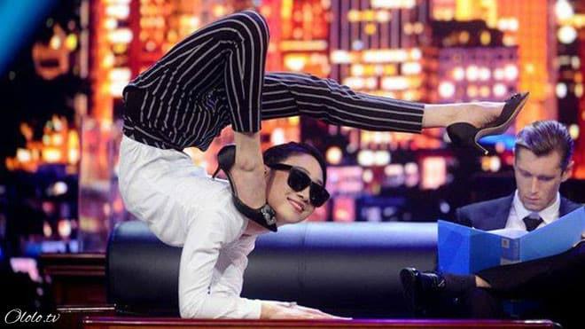 Китайская «Гуттаперчевая девушка» демонстрирует чудеса гибкости рис 3