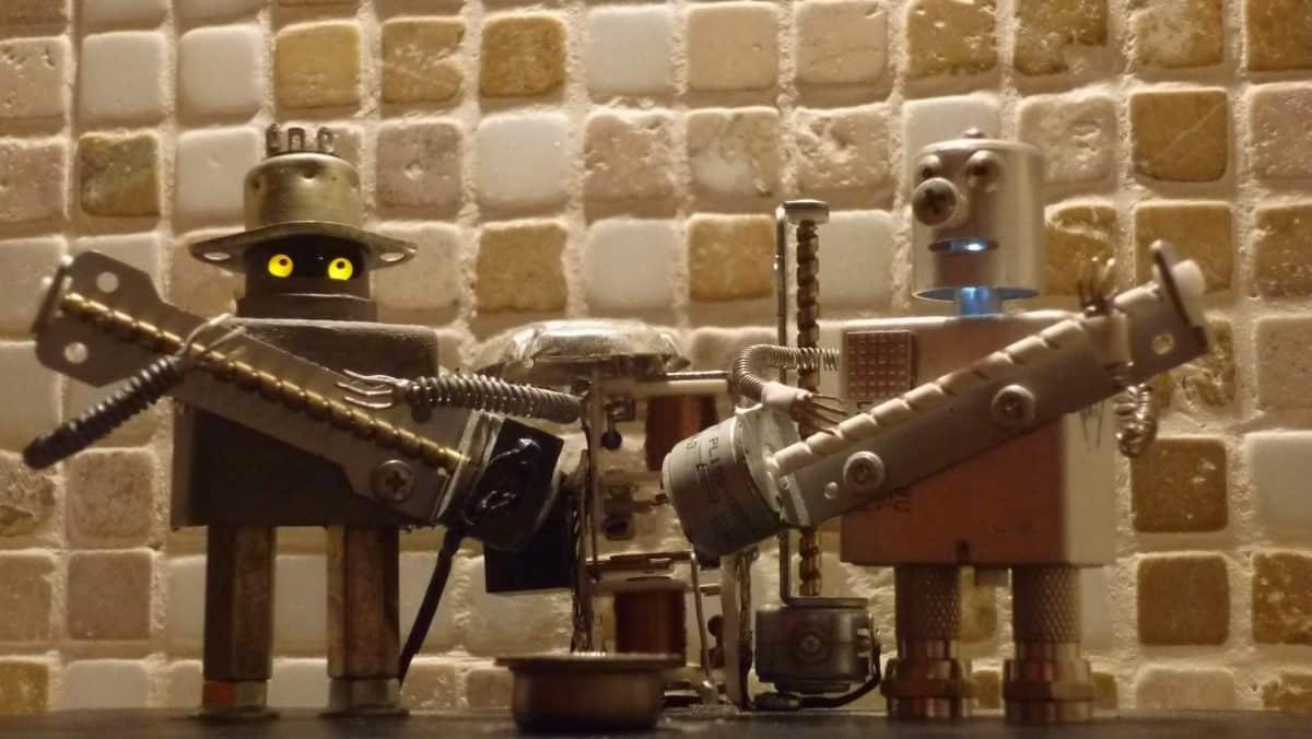 Это надо слышать! Red Hot Chili Peppers - Californication в исполнении роботов!