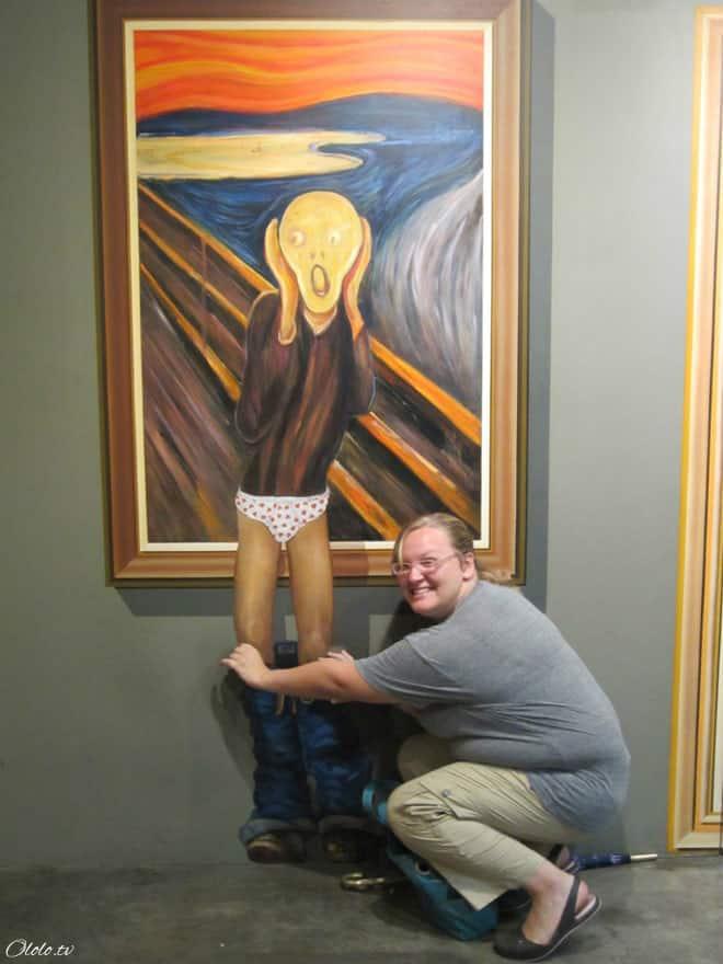 Удивительный музей обмана зрения для любителей смешного позирования