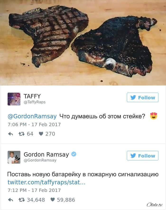 Эти люди пожалели, что решили показать свои блюда в твиттере повару Гордону Рамзи рис 3