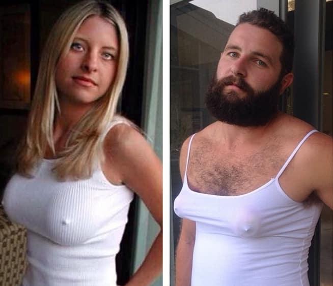 Как прославиться в интернете, передразнивая фотографии из чужих профилей в Tinder рис 6