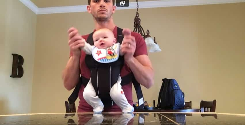 Когда папа и сын остаются одни дома. Видео