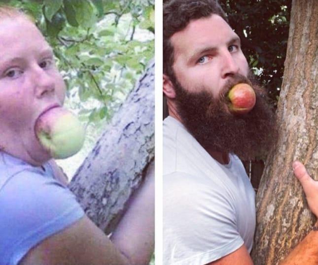 Как прославиться в интернете, передразнивая фотографии из чужих профилей в Tinder рис 5