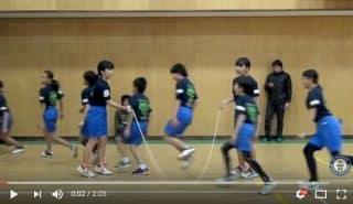 Прыжки со скакалкой. Уровень сложности - азиат. Видео