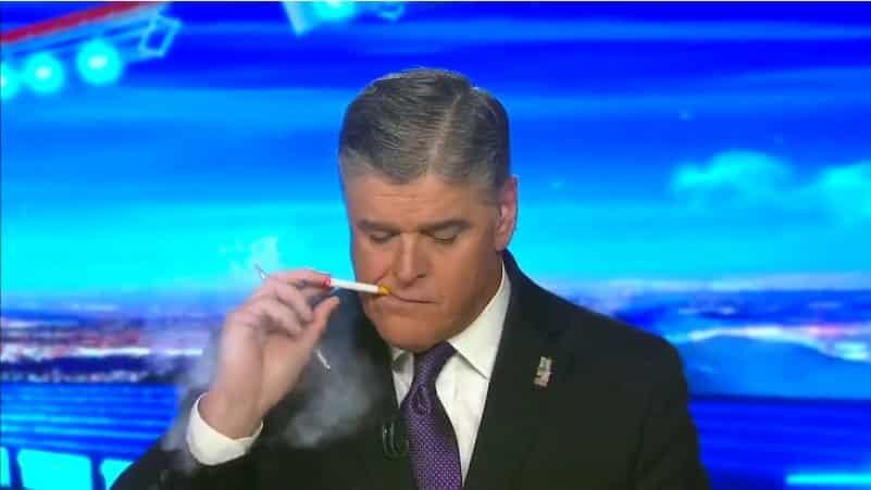 Американский телеведущий покурил в прямом эфире. Видео