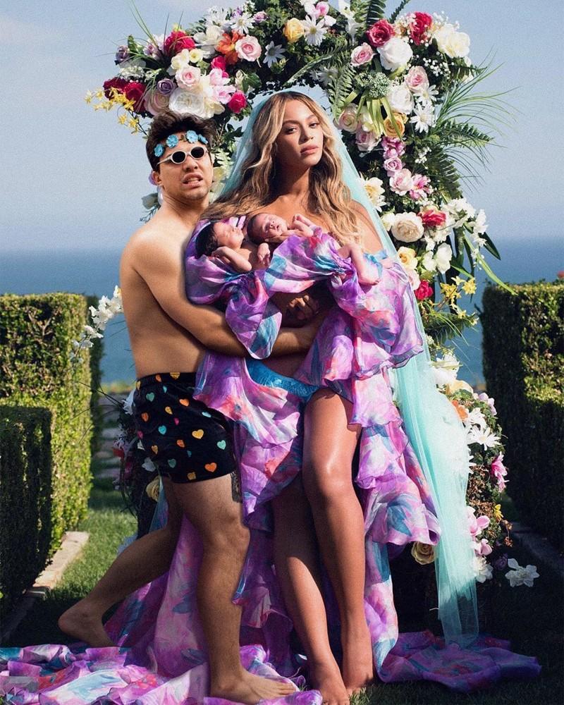 Интернет-тролль с помощью фотошопа высмеивает студийные фото знаменитостей рис 7