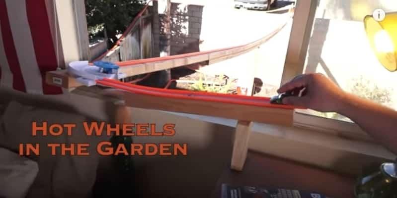 Невероятная трасса для игрушечных машинок Hot wheels. Видео