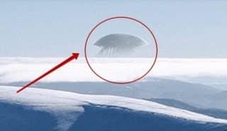 Над Эльбрусом было заснято на видео НЛО