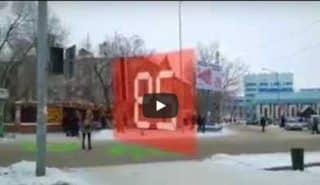 Как Вам идея пешеходного перехода? Видео