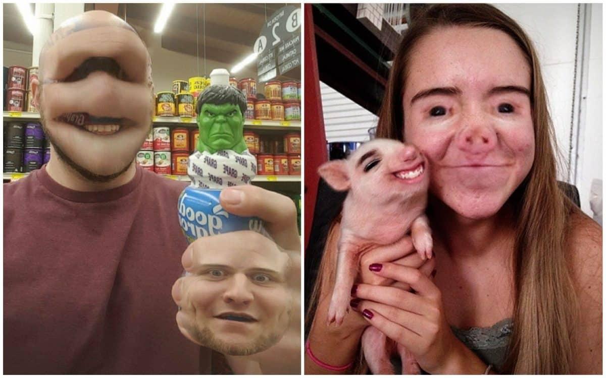 15 Snapchat-фото, над которыми хочется то ли плакать, то ли смеяться