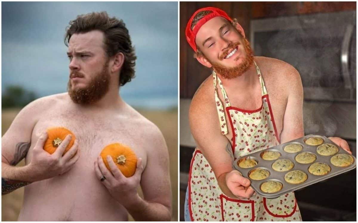 18 типично женских фото в исполнении мужчин с отличным чувством юмора