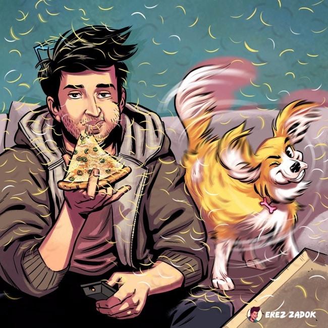16 комиксов, в которых собрана вся правда о жизни с собакой!16 комиксов, в которых собрана вся правда о жизни с собакой!