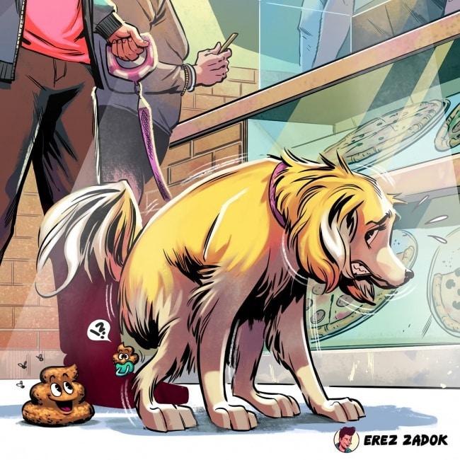 16 комиксов, в которых собрана вся правда о жизни с собакой!