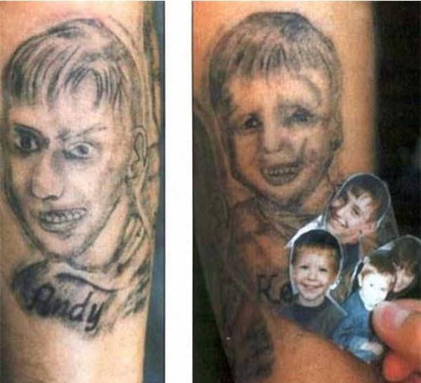 13 портретных тату, при виде которых хочется плакать... рис 6