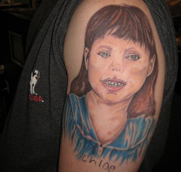 13 портретных тату, при виде которых хочется плакать... рис 11