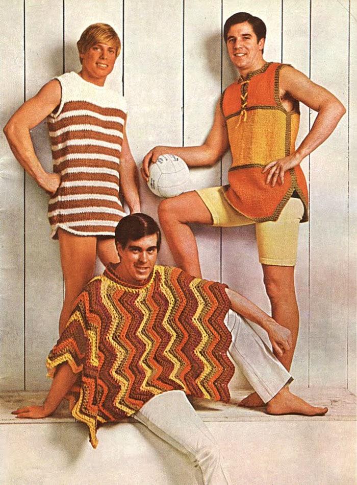 Воу воу, парни палехче! Мода мужчин 70-х, рассмешила до слез. рис 5
