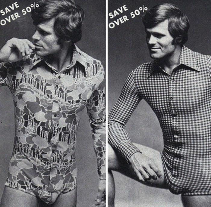 Воу воу, парни палехче! Мода мужчин 70-х, рассмешила до слез. рис 4