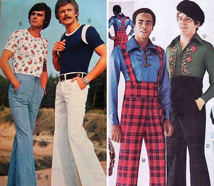 Воу воу, парни палехче! Мода мужчин 70-х, рассмешила до слез. рис 7