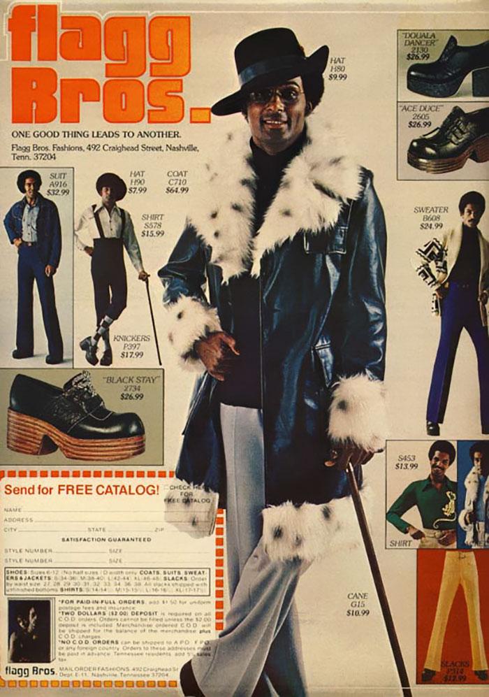 Воу воу, парни палехче! Мода мужчин 70-х, рассмешила до слез. рис 8