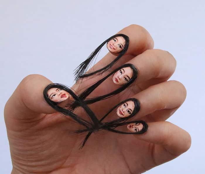 В моду входят волосатые селфи-ногти! Выглядит это также ужасно, как и звучит...