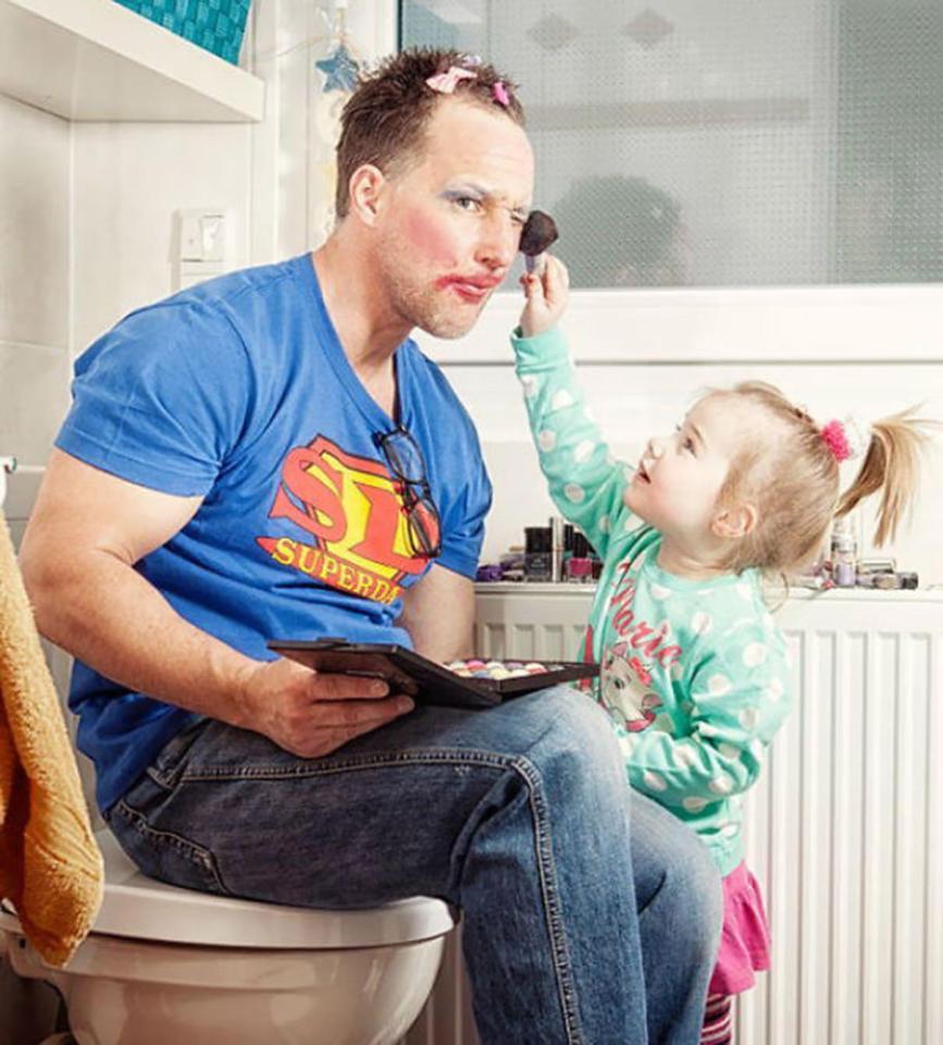 Фото неотразимых отцов, которые растят дочерей! рис 10