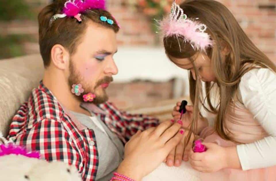 Фото неотразимых отцов, которые растят дочерей! рис 13