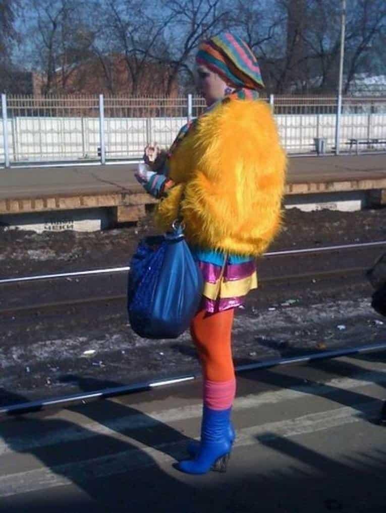 10 фото отчаянных уличных модников. рис 10