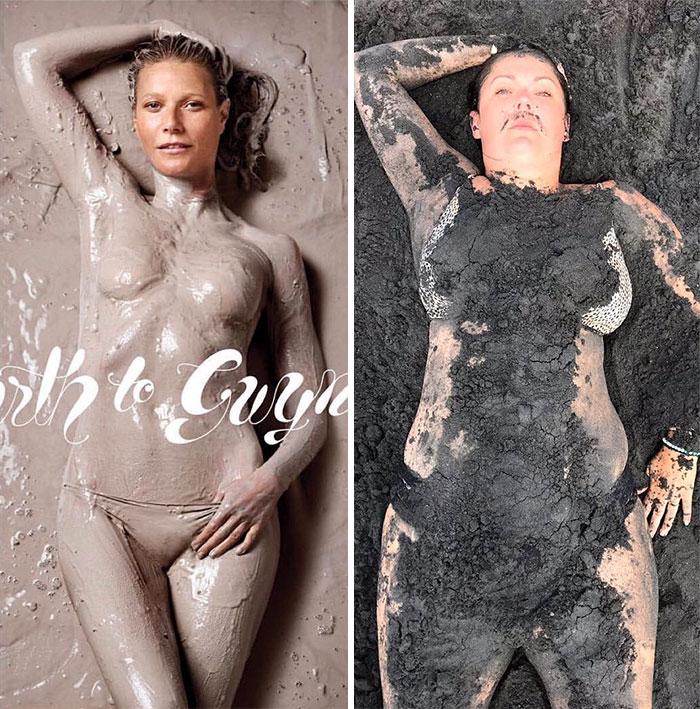 15+ идеальных фото из Инстаграм, высмеянных пародисткой из Австралии рис 8
