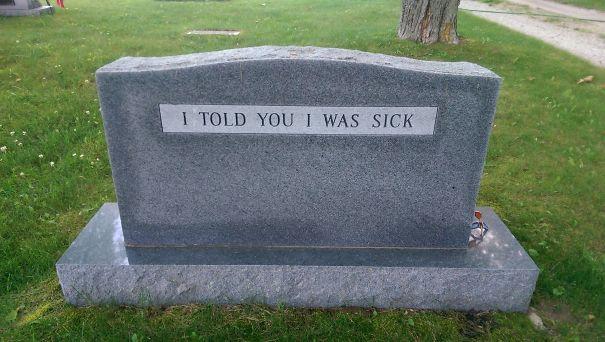 17 смешных надписей на надгробиях от людей, чье чувство юмора будет жить вечно! рис 9