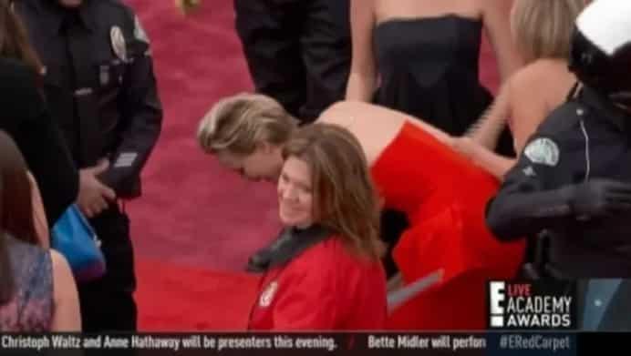 3 раза, когда Дженнифер Лоуренс отличилась на премии Оскар. То ли еще будет? рис 2