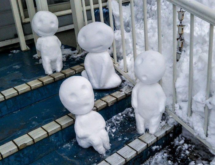 17 снеговиков, доказывающих, что у японцев все не как у людей! Часть II рис 16