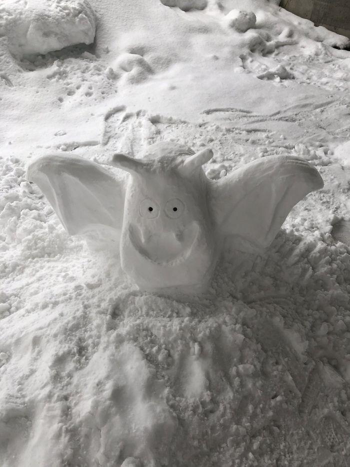 17 снеговиков, доказывающих, что у японцев все не как у людей! Часть II рис 15