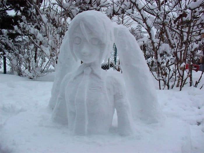 17 снеговиков, доказывающих, что у японцев все не как у людей! Часть II рис 11