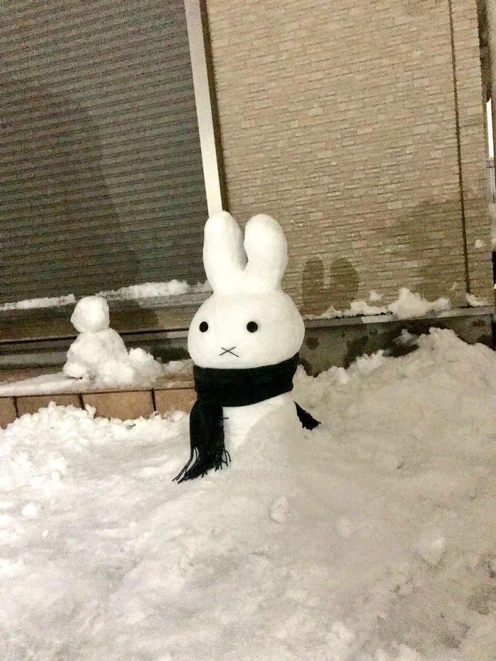 17 снеговиков, доказывающих, что у японцев все не как у людей! Часть II рис 8