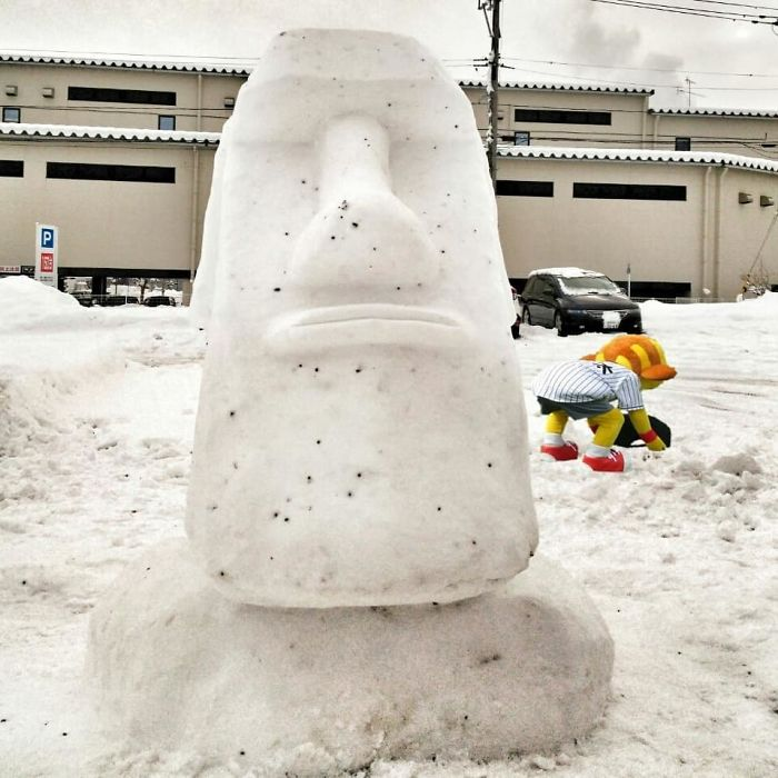 17 снеговиков, доказывающих, что у японцев все не как у людей! Часть II