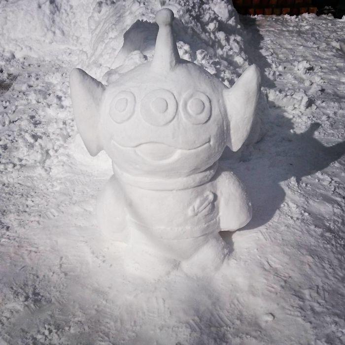17 снеговиков, доказывающих, что у японцев все не как у людей! Часть II рис 3
