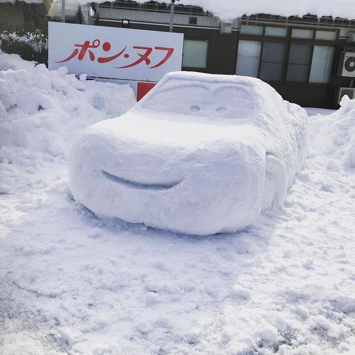 17 снеговиков, доказывающих, что у японцев все не как у людей! Часть II рис 2