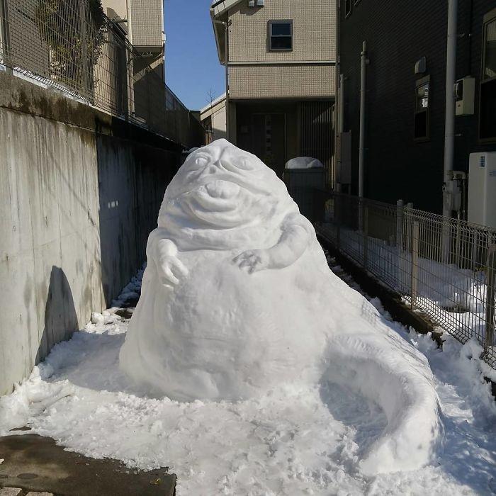 17 снеговиков, доказывающих, что у японцев все не как у людей! рис 12