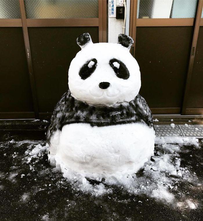 17 снеговиков, доказывающих, что у японцев все не как у людей! рис 11