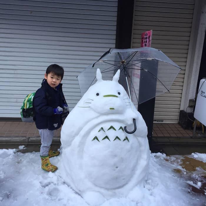 17 снеговиков, доказывающих, что у японцев все не как у людей! рис 9