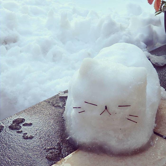 17 снеговиков, доказывающих, что у японцев все не как у людей! рис 8