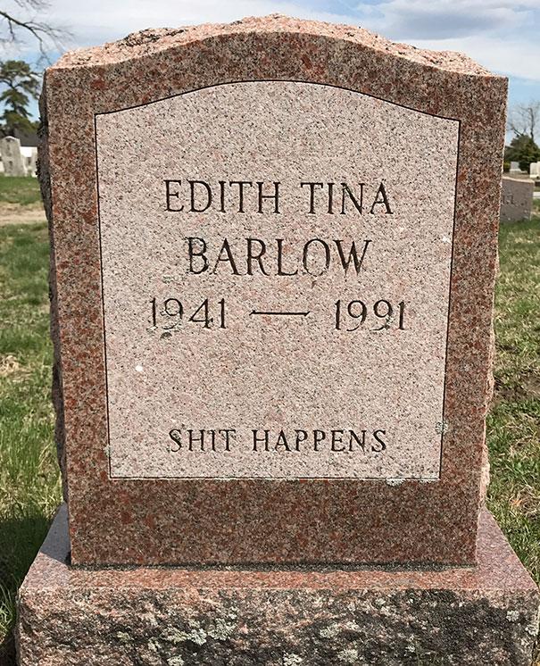 17 смешных надписей на надгробиях от людей, чье чувство юмора будет жить вечно! рис 8