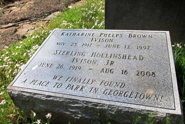 17 смешных надписей на надгробиях от людей, чье чувство юмора будет жить вечно!17 смешных надписей на надгробиях от людей, чье чувство юмора будет жить вечно!