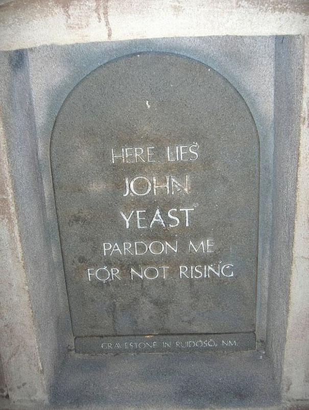 17 смешных надписей на надгробиях от людей, чье чувство юмора будет жить вечно! рис 2